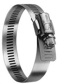 """2 1/2"""" Stainless Steel Hose Clamps"""